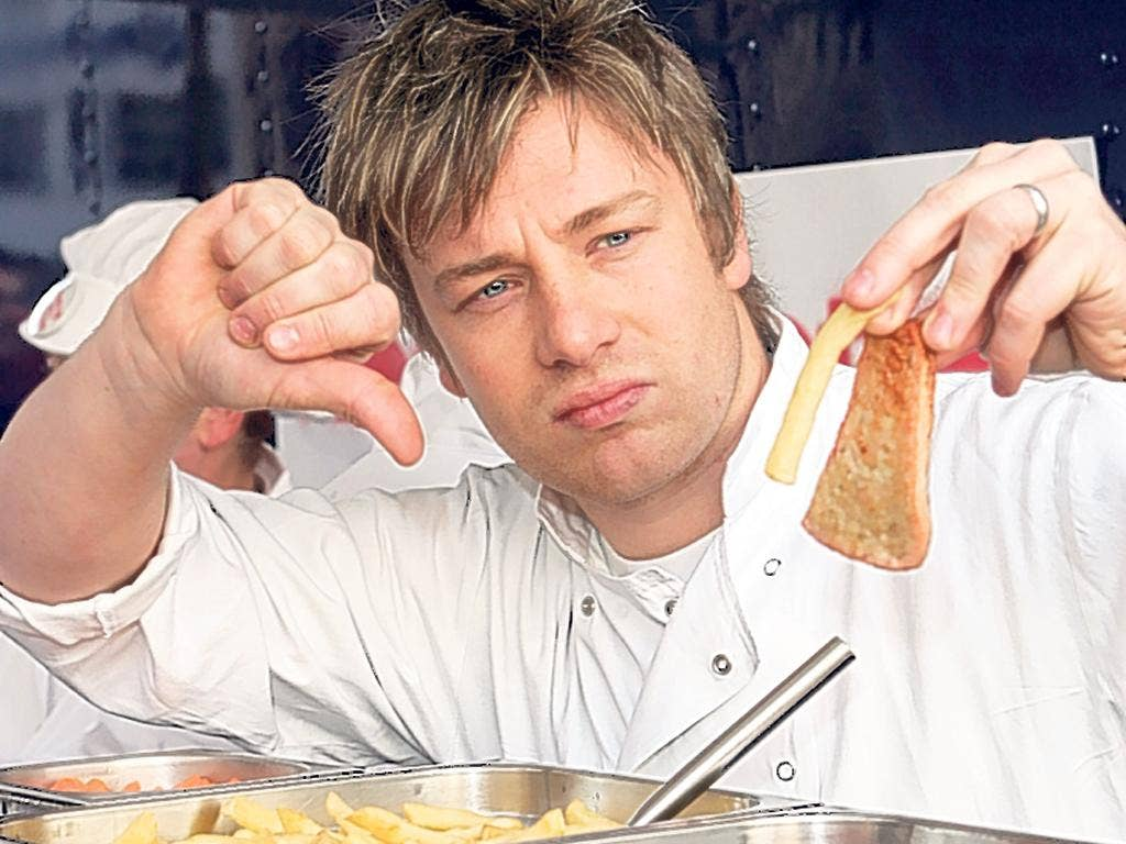 Jamie Oliver campaigned for better school meals six years ago