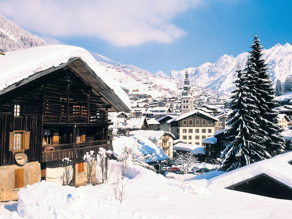 The village of La Clusaz