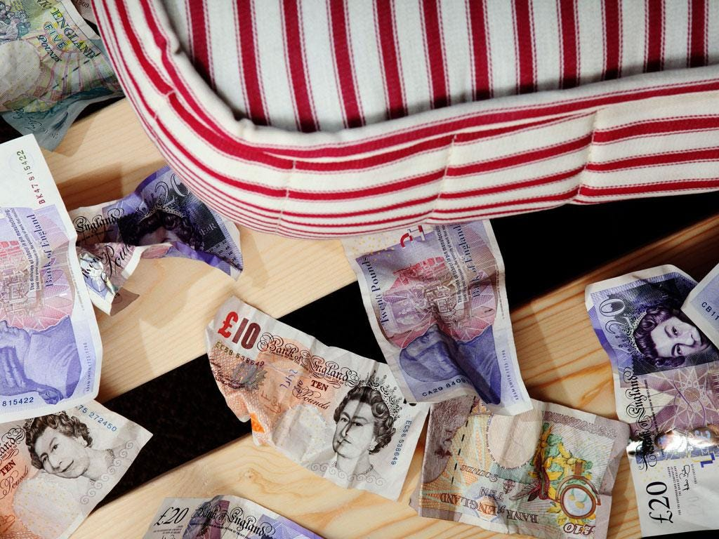 There are still investment opportunities that will give better returns than hiding your cash under the mattress