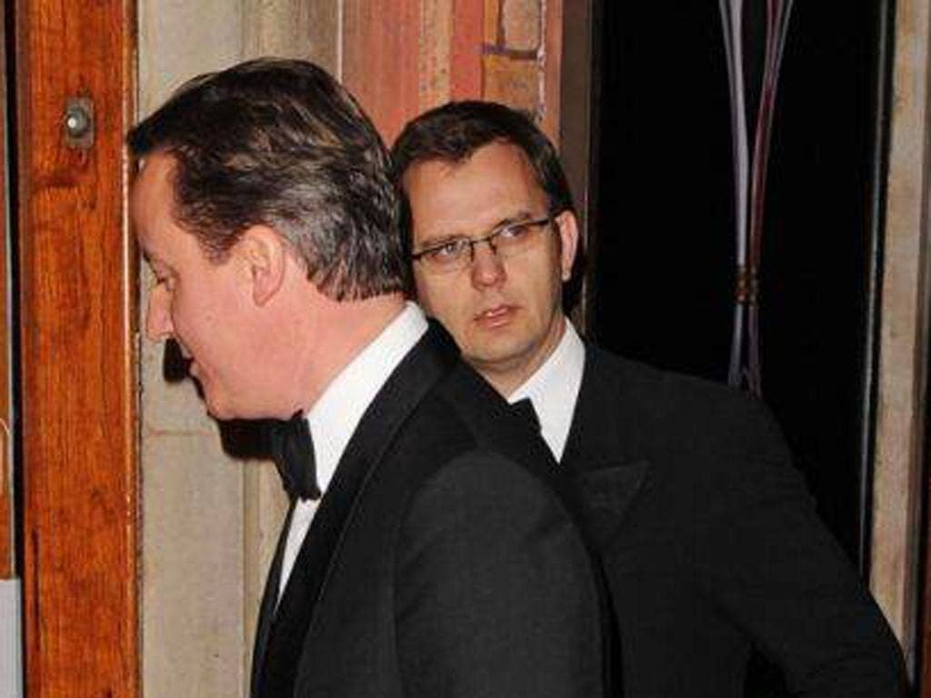 David Cameron's reliance on former Murdoch man Andy Coulson is handily out of the news