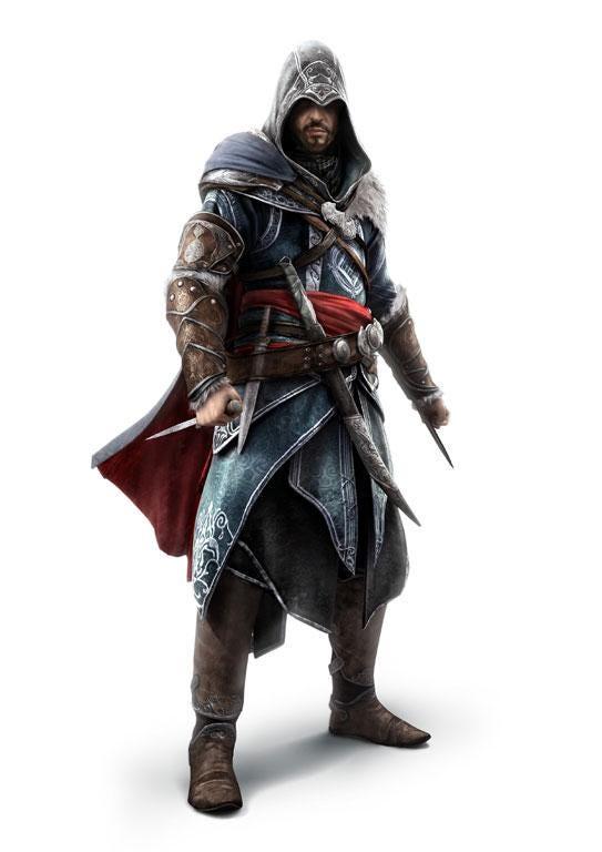 Ezio Auditore da Firenze: Renaissance nobleman who leads an ancient society of assassins