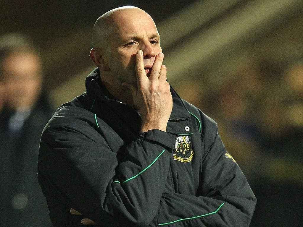 Jim Mallinder is far more comfortable talking about his player than his own prospects