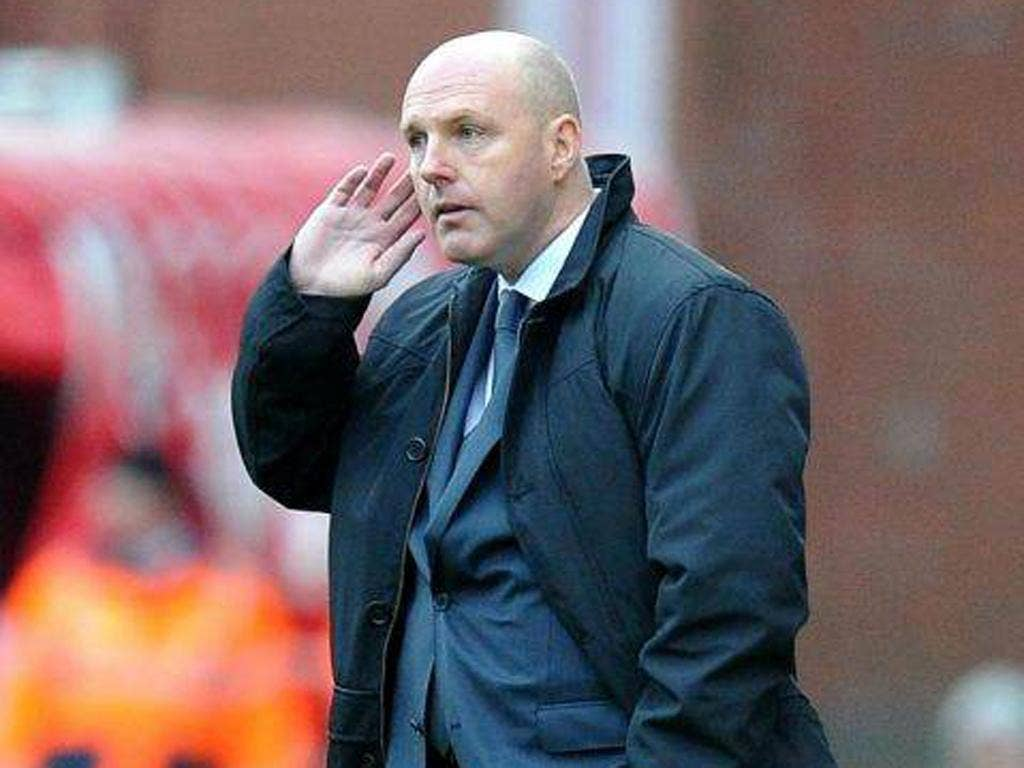 Blackburn manager Steve Kean retains the support of the dressing room and the board