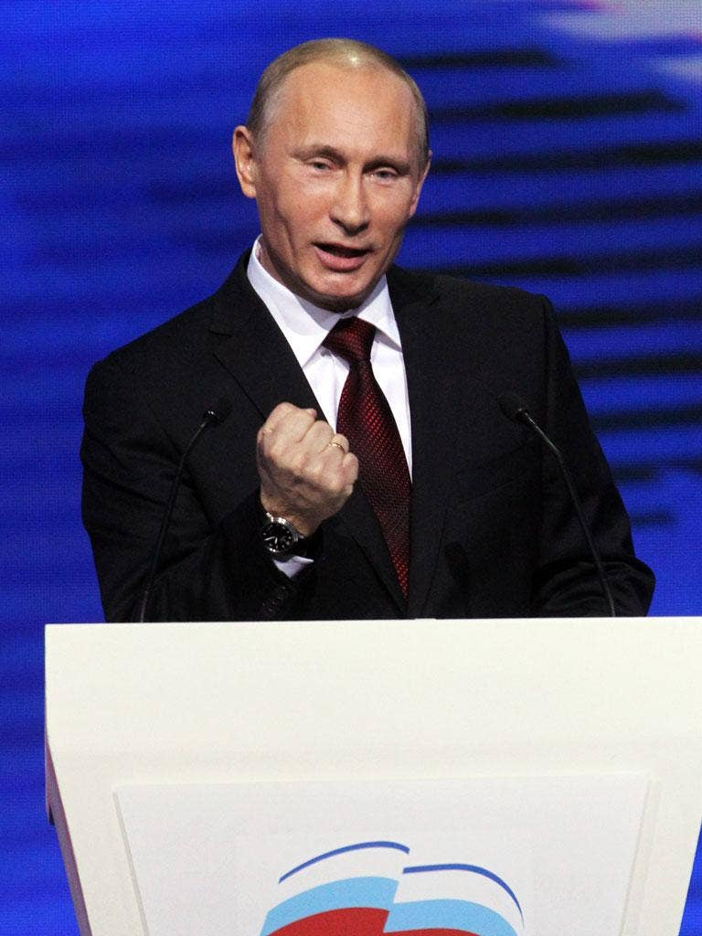Putin's come back