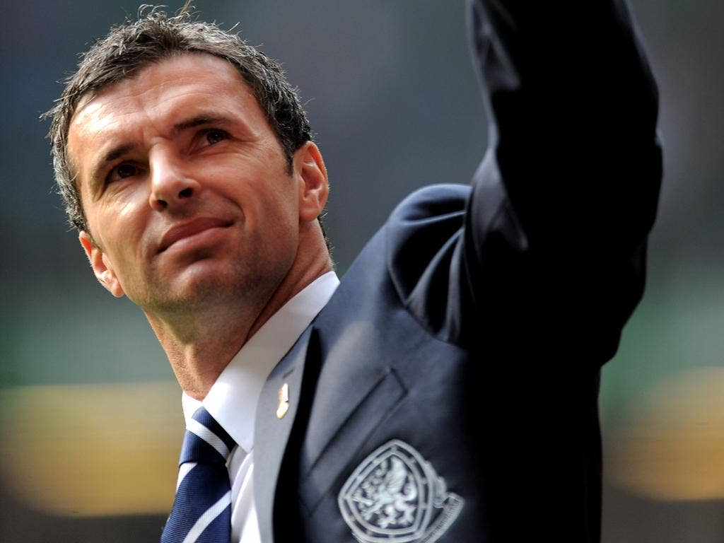 The Welsh football manager Gary Speed, who was found dead on Sunday