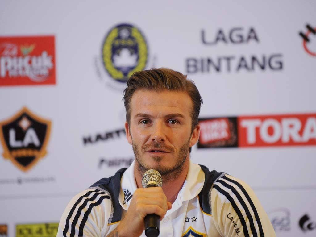 David Beckham is currently weighing up his next career move