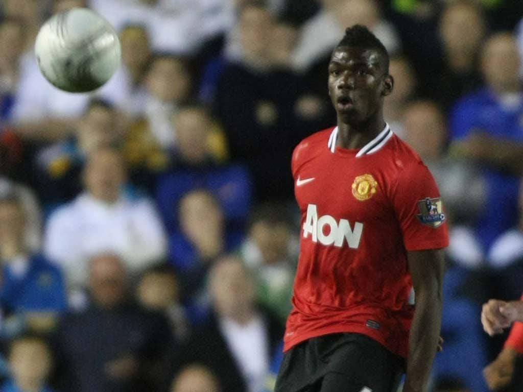 Paul Pogba is expected to be handed his full United debut
