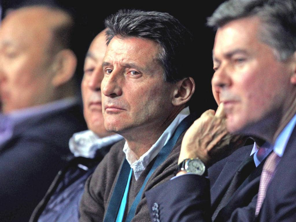 Lord Coe has hailed the country's young football talent