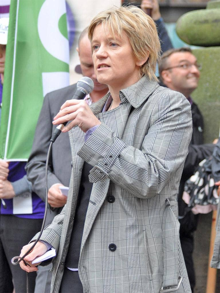 Clare Williams, health worker and Unison representative: 'This is about making public-sector workers contribute even more'