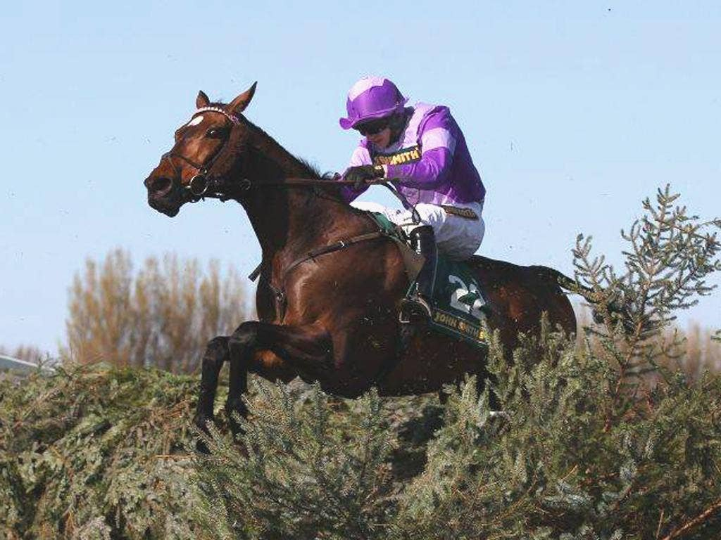 Always Waining, became the first horse since 1958 to win consecutive runnings of the Topham Chase in April