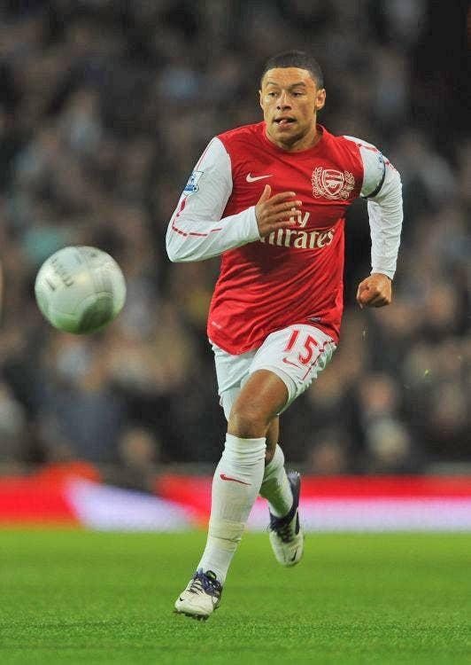 Alex Oxlade-Chamberlain caught the eye for Arsenal on Tuesday
