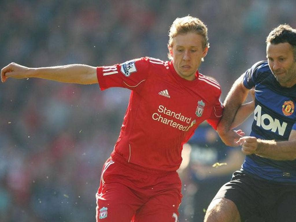 Lucas' fine season may be over after he was injured on Tuesday