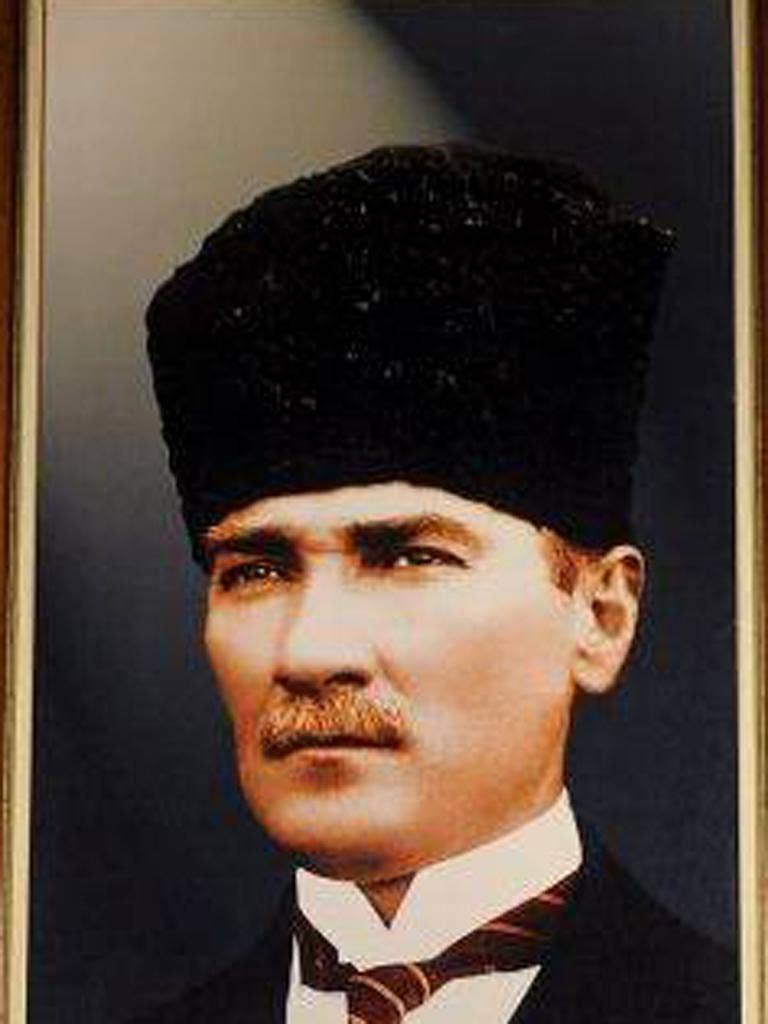 Ataturk, the 'father' of the nation