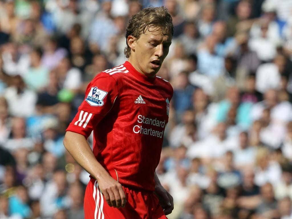 Lucas Leiva has played a pivotal role in Liverpool's midfield this term