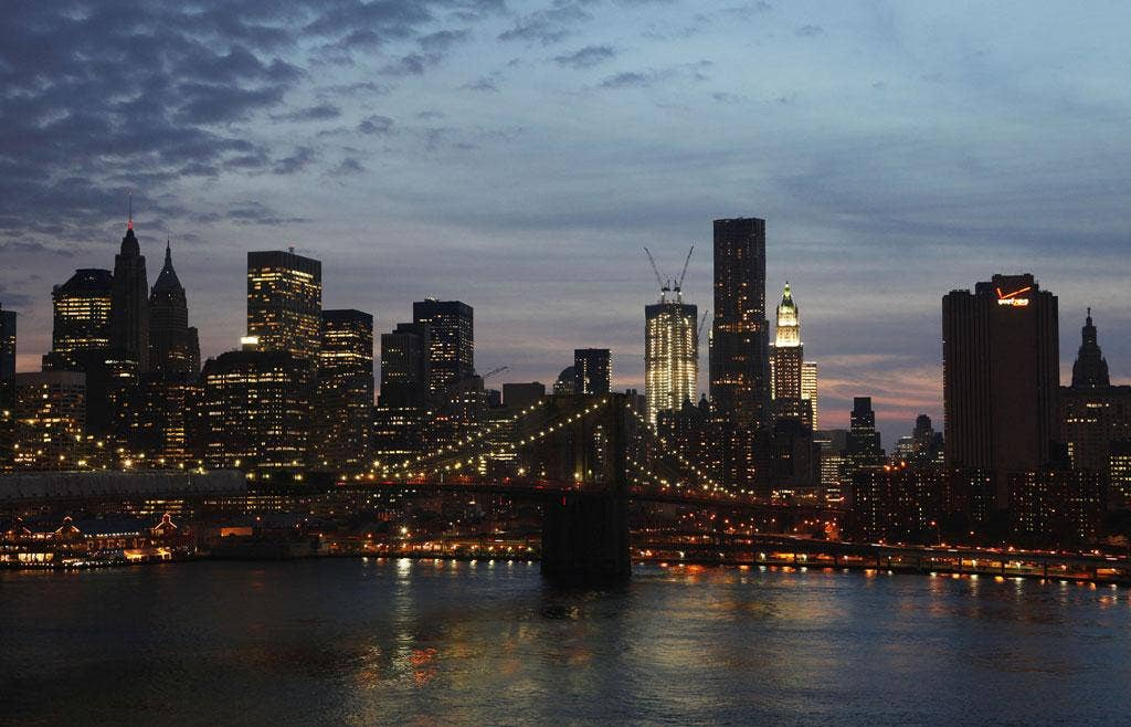 City states of mind: The New York skyline before the 9/11 attacks