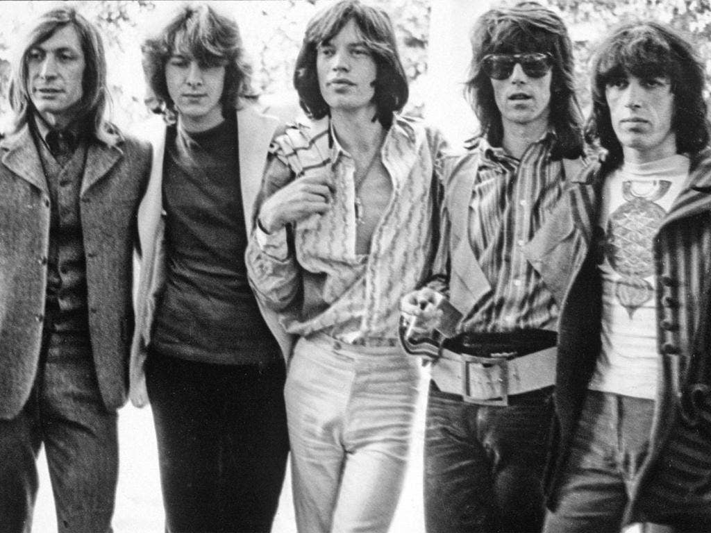 Guitarist Mick Taylor, 62, joined the Rolling Stones (second left) when he was 20