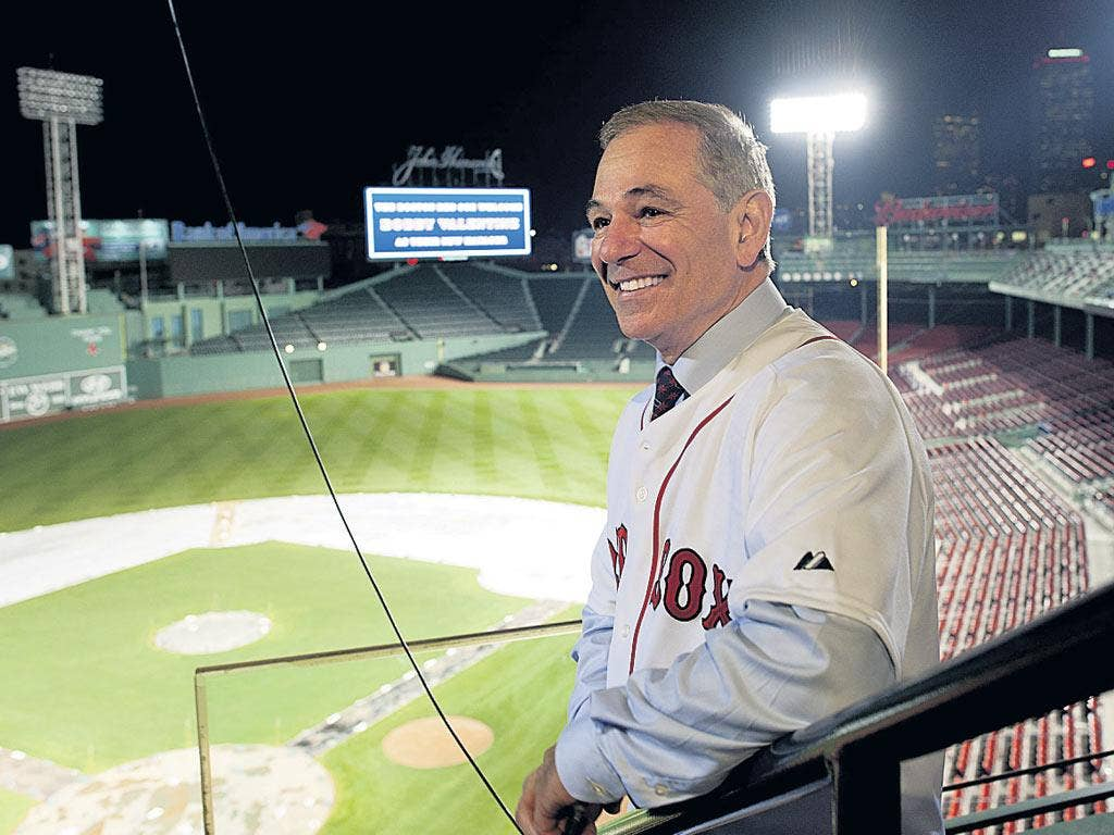 Boston Red Sox 'messiah' Bobby Valentine is all smiles at Fenway Park