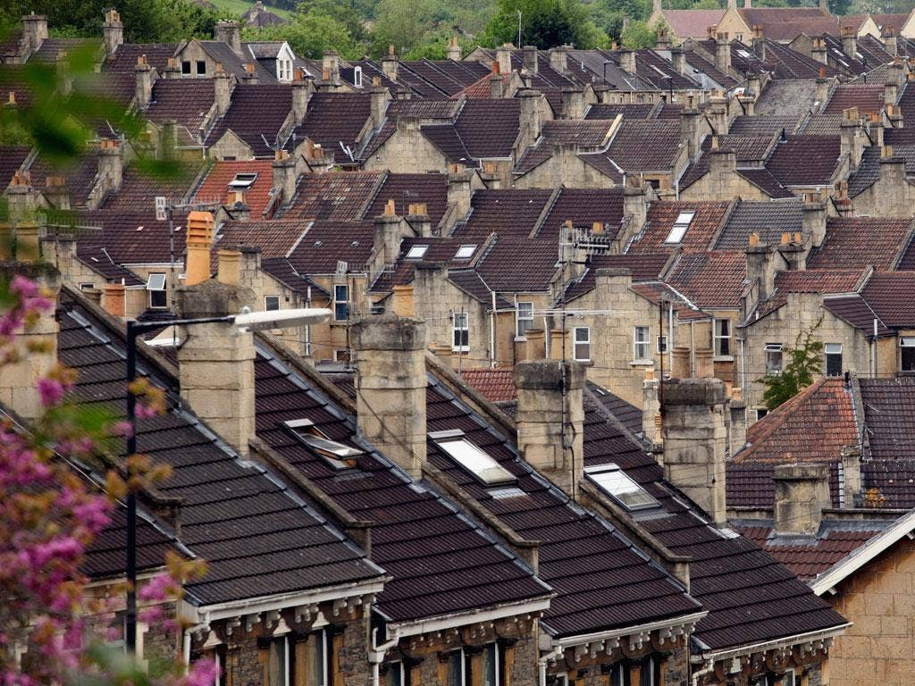 A roof over your head: Many who bought 25 years ago can rely on 'large equity' in their homes