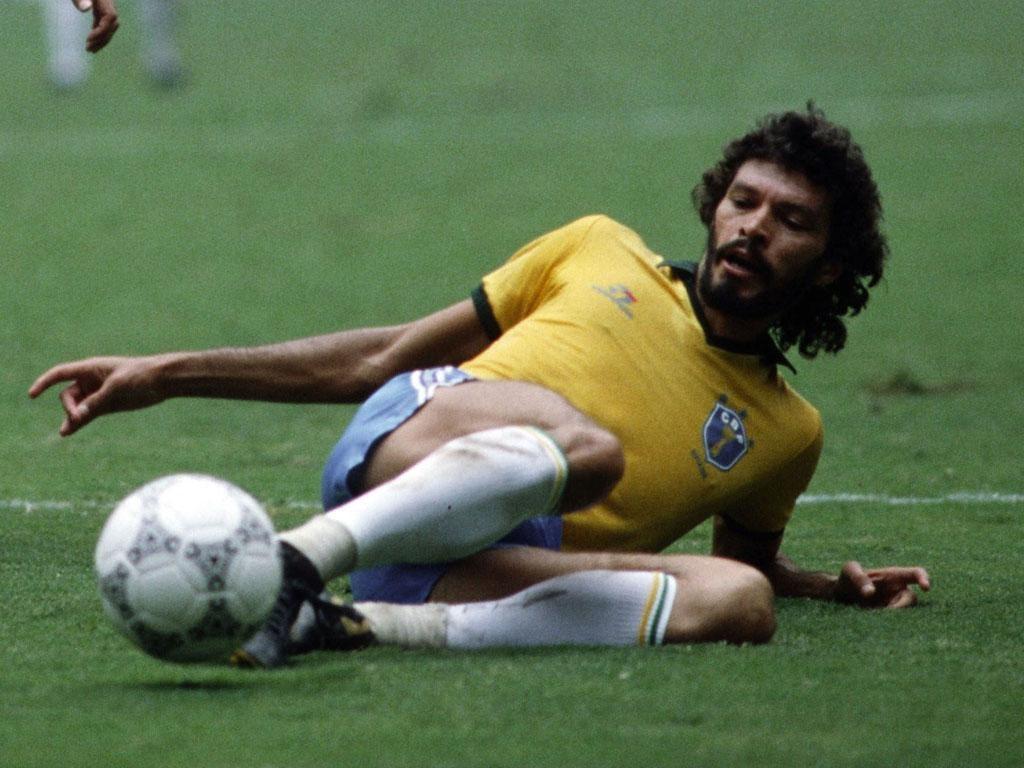 Socrates pictured in 1986