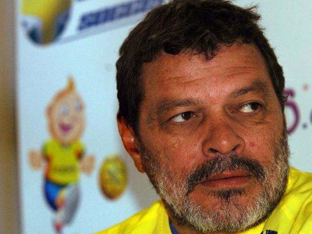 The legendary Brazilian midfielder, Socrates
