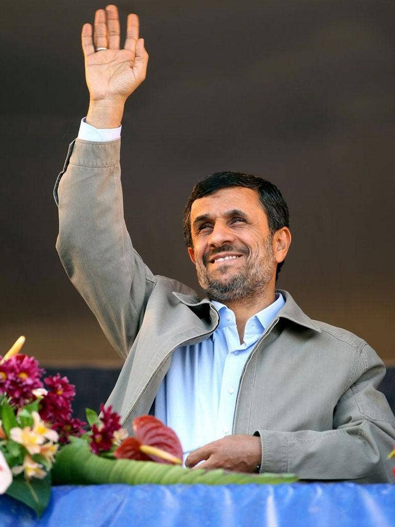 MAHMOUD AHMADINEJAD: The religious hardliner was elected president in 2005 and again in 2009