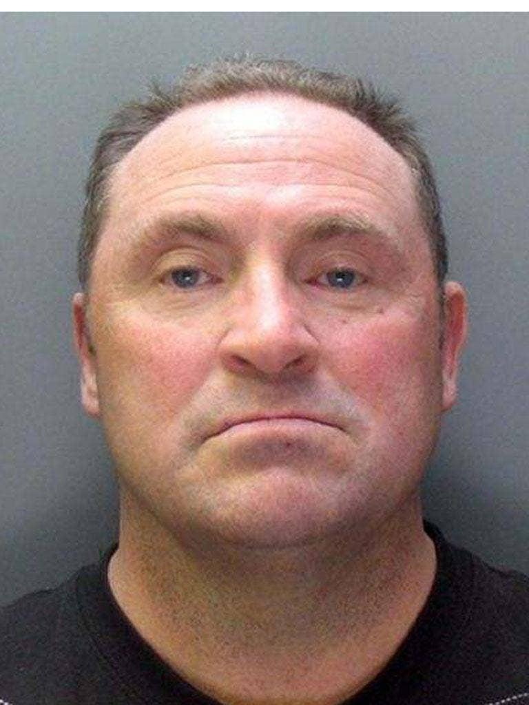 Barry Morrow, 51, wanted in connection with the deaths of a mother and daughter in Southport, Merseyside