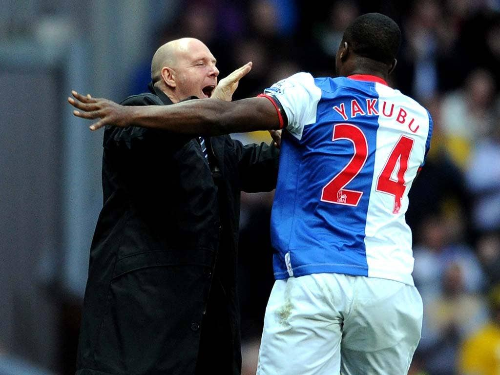 Steve Kean was booed despite a win for Blackburn