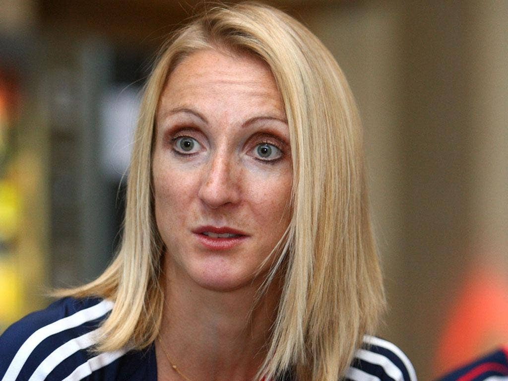 Paula Radcliffe: 'I think it is a a little bit frivolous to throw a lot at it given the fact we are in a recession.'