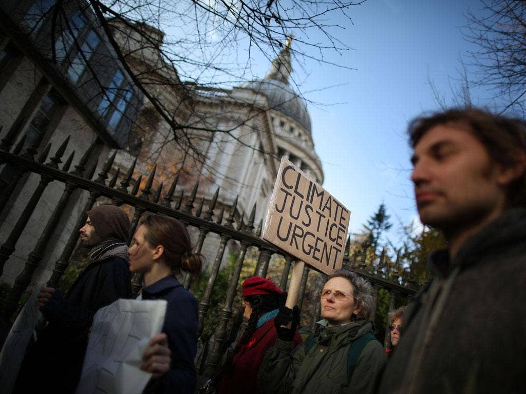 One of the most senior figures in City regulation will meet protesters from the St Paul's Cathedral camp today