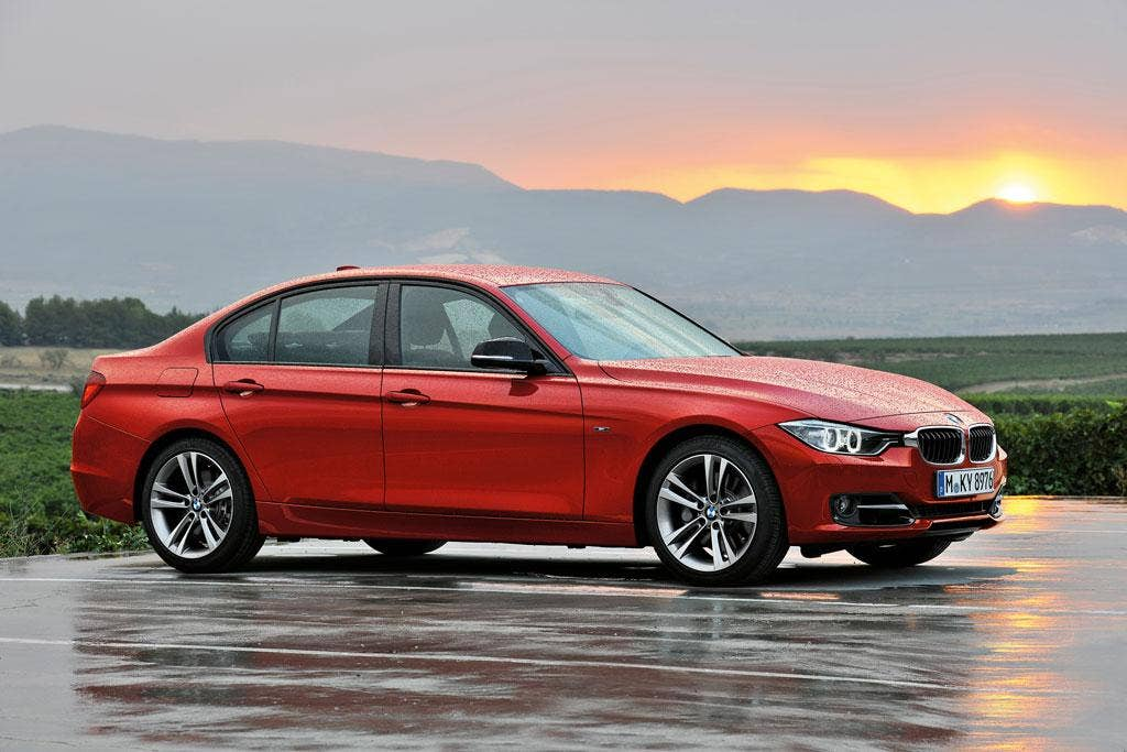 The BMW 320d's fit and finish are impeccable