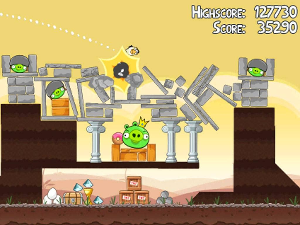 The iPhone phenomenon that is Angry Birds