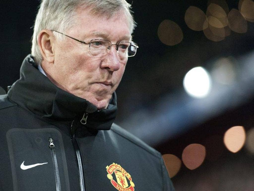 Sir Alex Ferguson comes to terms with elimination from the Champions League