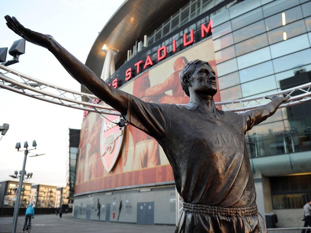 Statue of Arsenal Legend Tony Adams is unveiled at Emirates Stadium