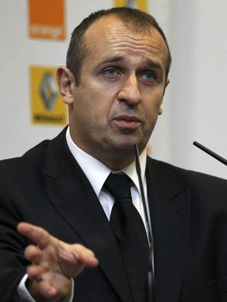 Philippe Saint-André has taken over as France manager