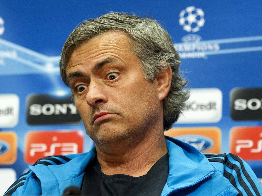 Jose Mourinho could become the first manager to win the European Cup with three different clubs