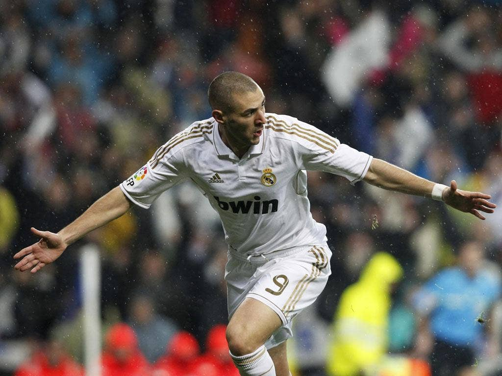 KARIM BENZEMA: The Real Madrid man's opener on 23 seconds was the fastest ever goal in a Clasico