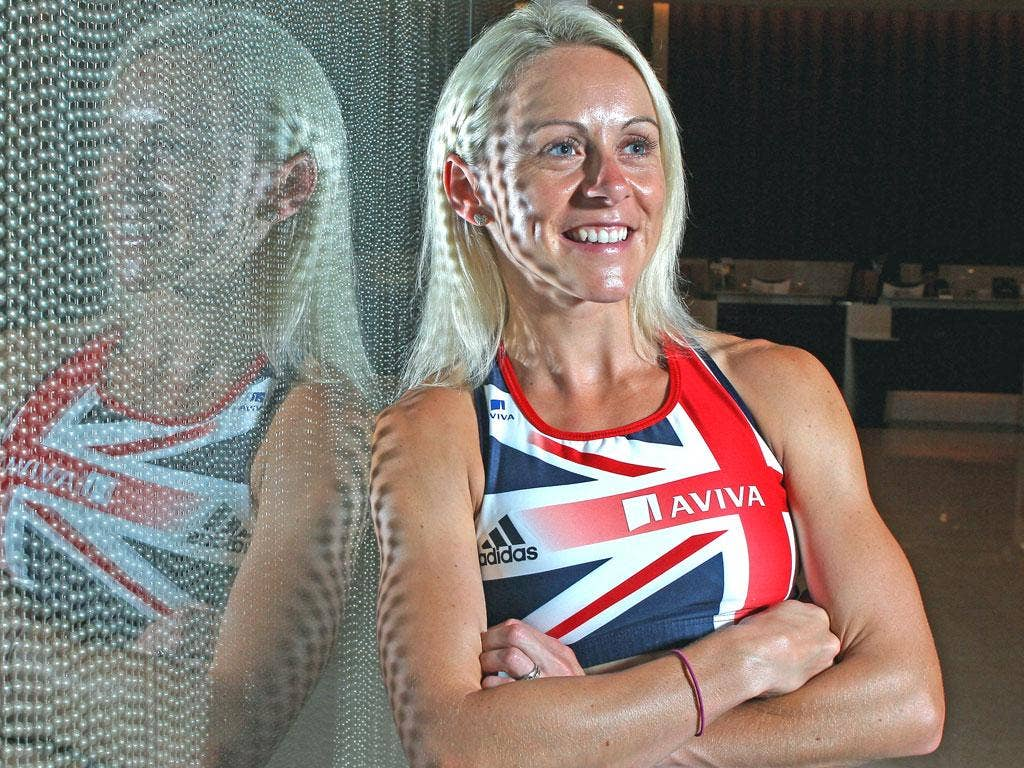'The Olympics could be the greatest thing ever to happen to me,' says Jenny Meadows, 'or a massive personal failure played out on a national level'