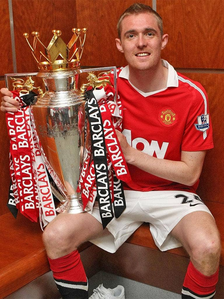 Fletcher has won four Premier League titles with Manchester United