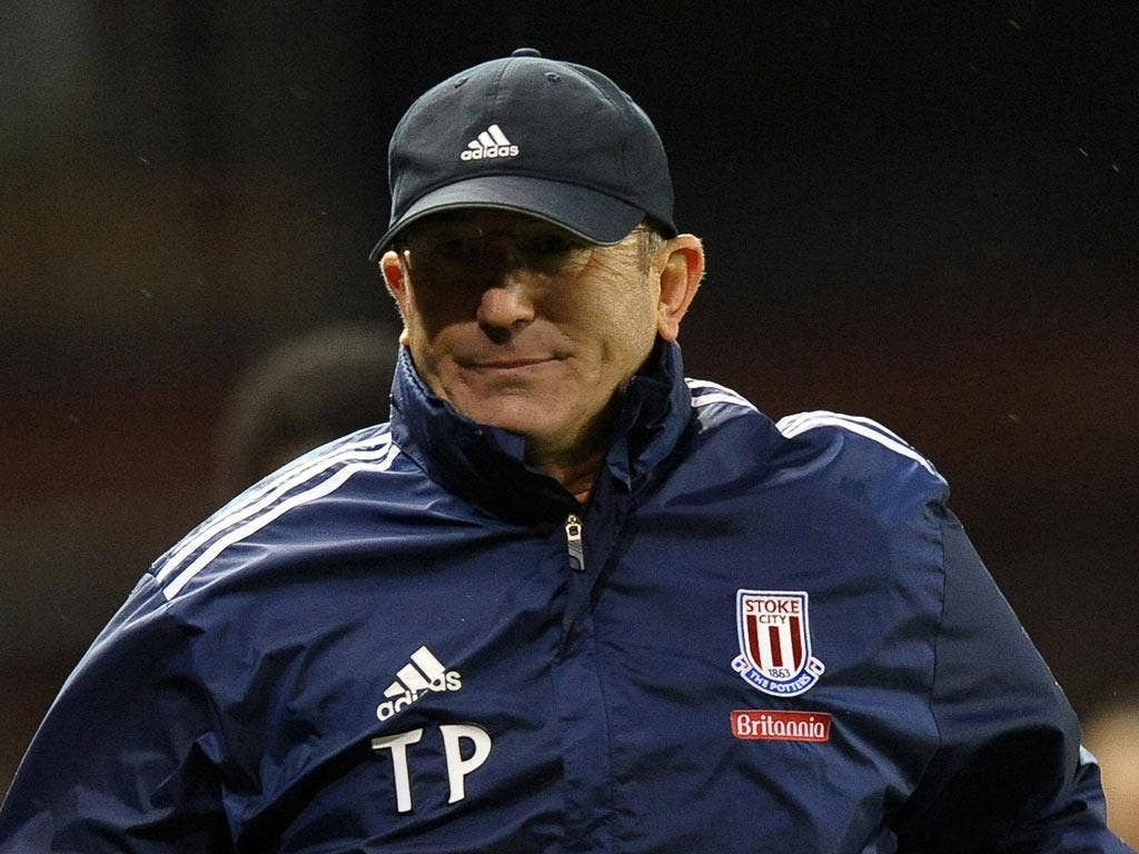 Tony Pulis has already seen his Stoke side qualify for the next stage of the Europa League