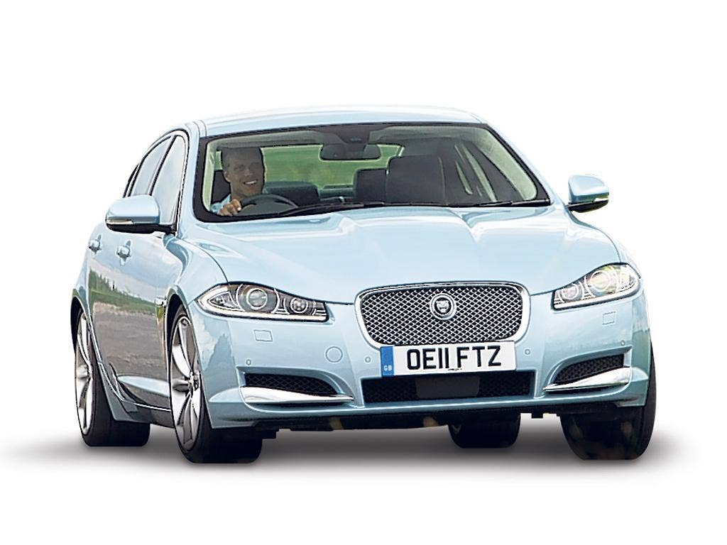 Jaguar XF: The new version carries a much smaller 2.2-litre, single-turbo, four cylinder diesel