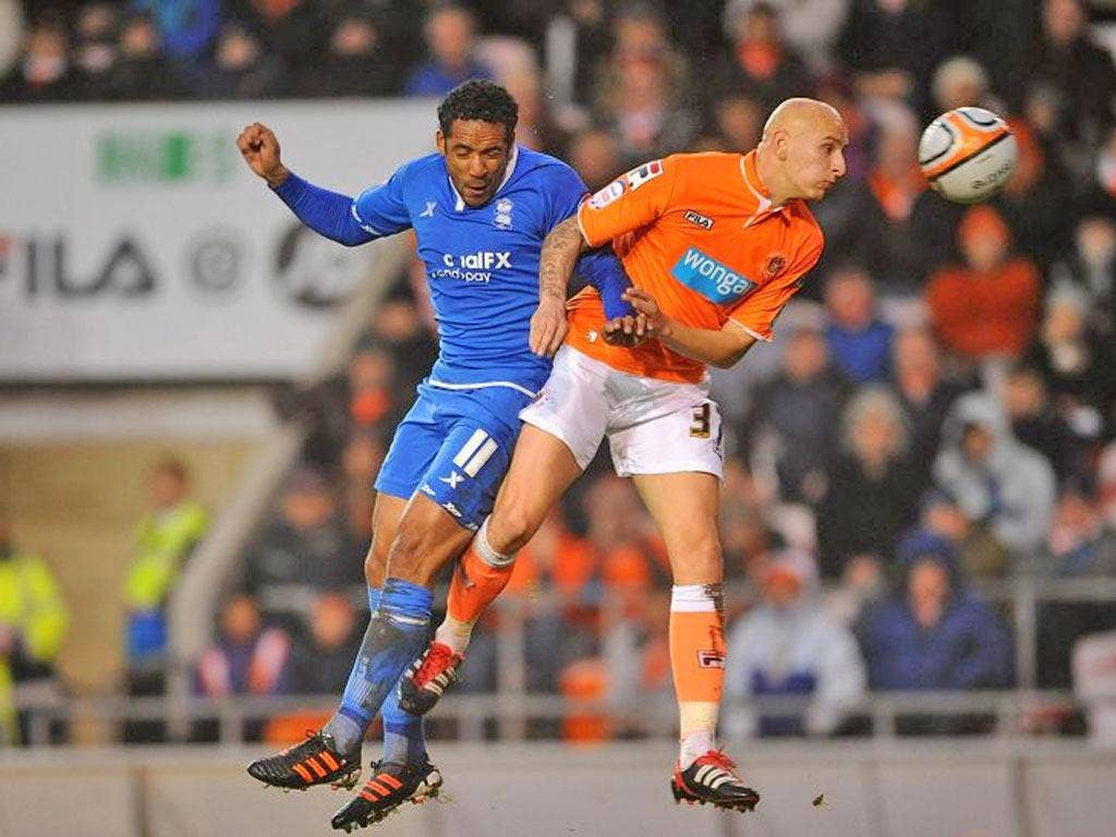 Jonjo Shelvey (right) had a successful loan period at Blackpool from Liverpool
