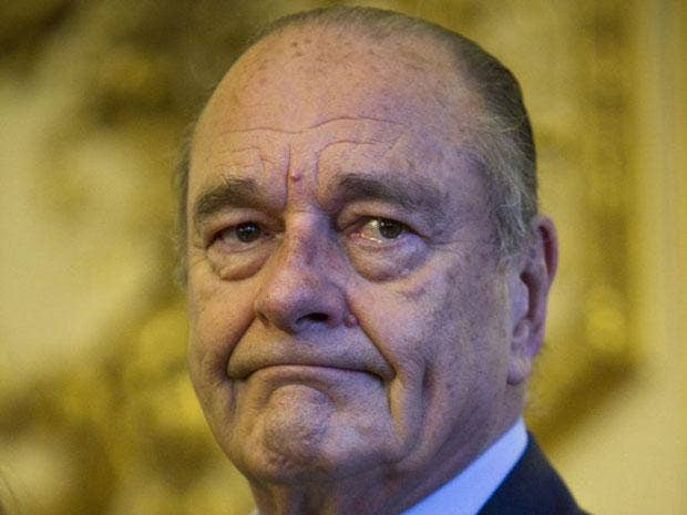 Jacques Chirac was found guilty today of embezzling public funds