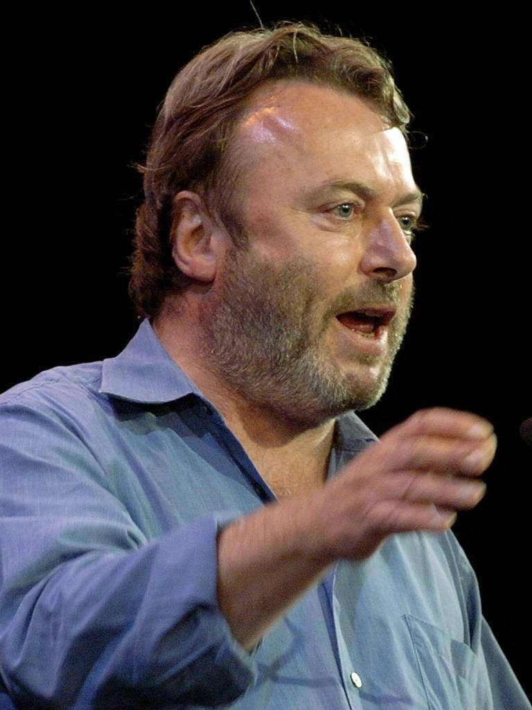 Controversialist - and quasi-neocon: Hitchens speaks at a debate about Iraq in New York in 2005