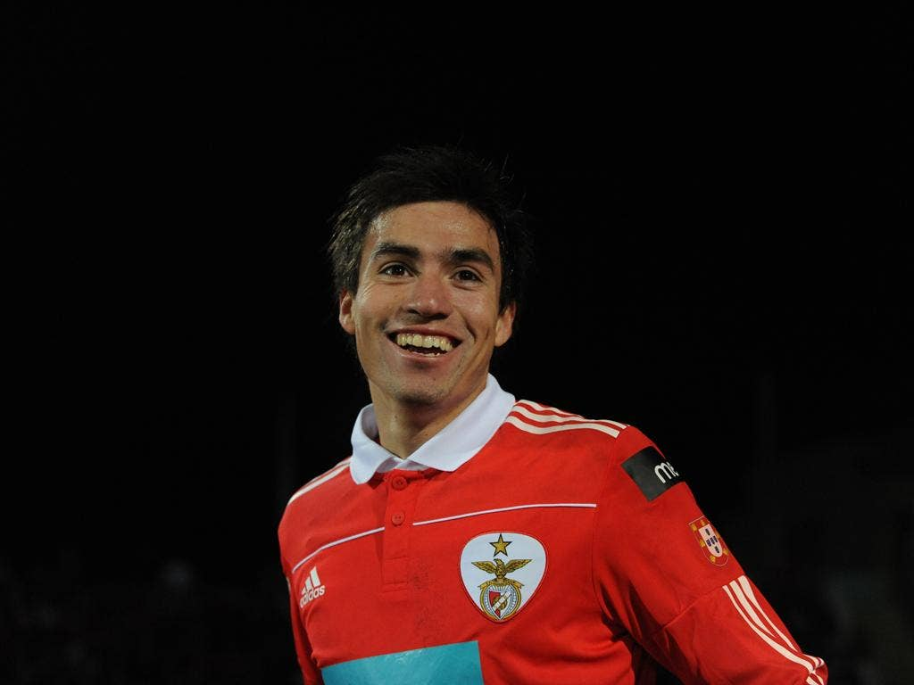 Nicolas Gaitan: The Argentine midfielder could be on his way to Old Trafford next summer