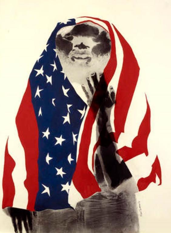 'America the Beautiful' by David Hammons