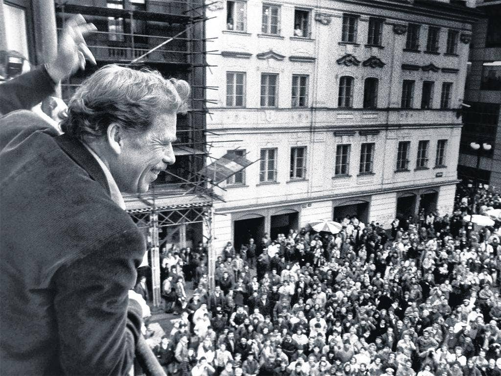 Vaclav Havel who did more than anyone to rip down the Iron Curtain