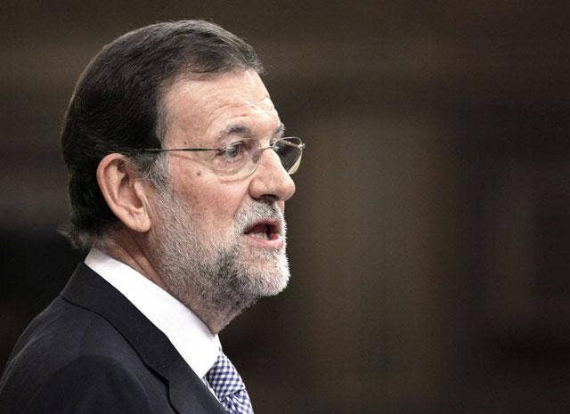 Mariano Rajoy has warned that very hard times lie ahead