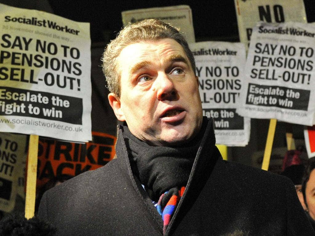 Mark Serwotka, head of the civil servants' union, has rejected the latest proposals
