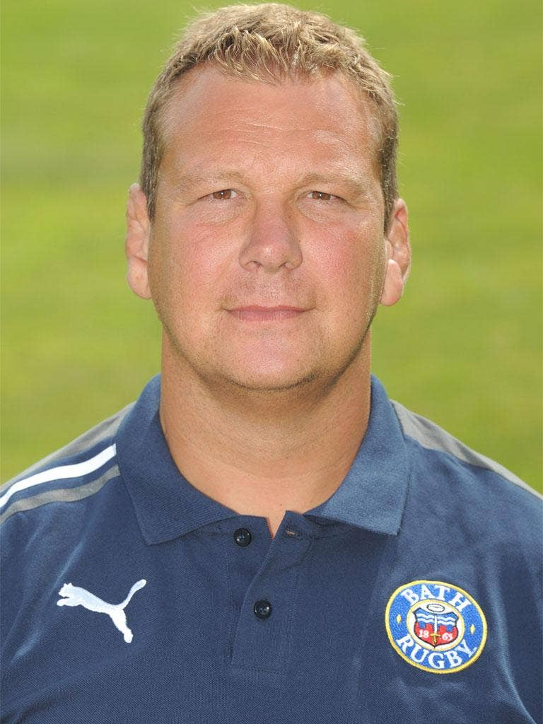 Bath's forwards coach, Martin Hagg, can find no fault with the commitment of the squad