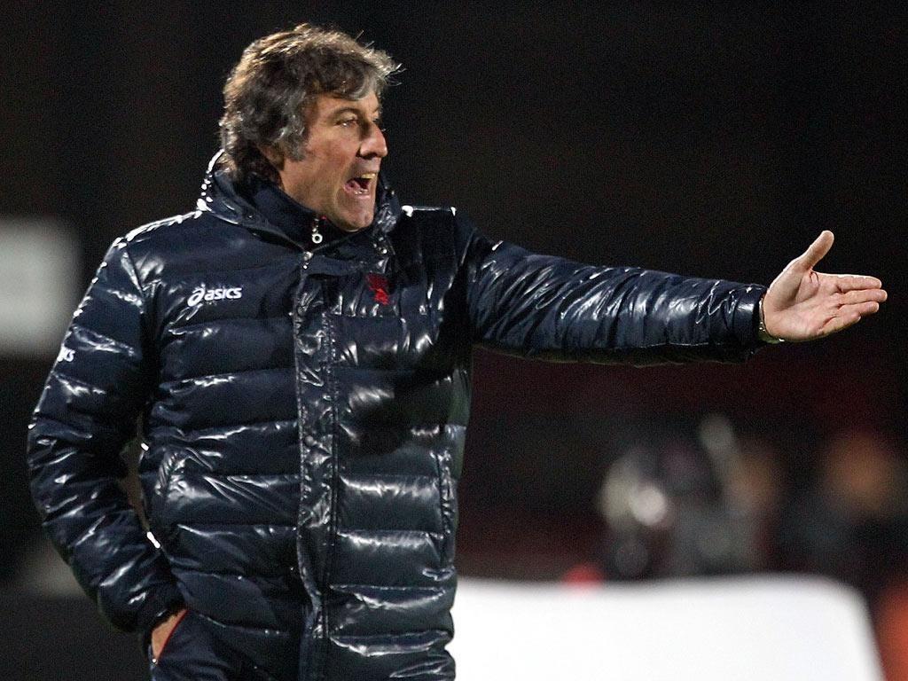 Former Genoa head coach Alberto Malesani